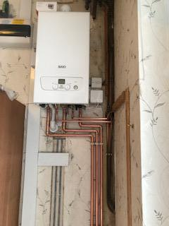 New baxi combi boiler installation in kings Norton, Birmingham.