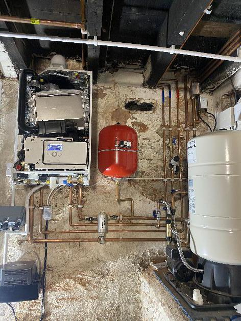 BOILER ROOM IN KINGS HEATH BIRMINGHAM